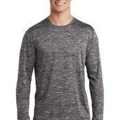 ® PosiCharge ® Long Sleeve Electric Heather Tee