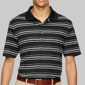 Golf Puremotion Textured Stripe Sport Shirt